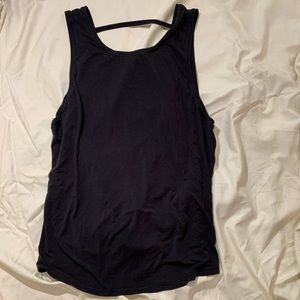 Lululemon Black Loose Top